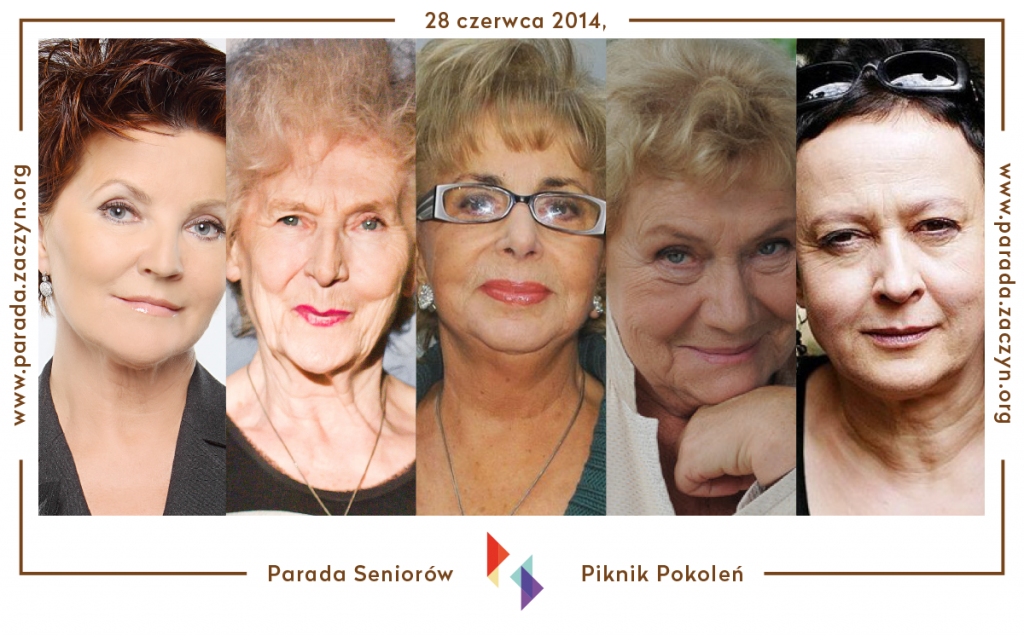 Debata Recepta na udaną starość - Parada Seniorów, Piknik Pokoleń 2014 - Jolanta Kwaśniewska, DJ Wika Zofia Czerwińska, Teresa Lipowska, Hanna Samson