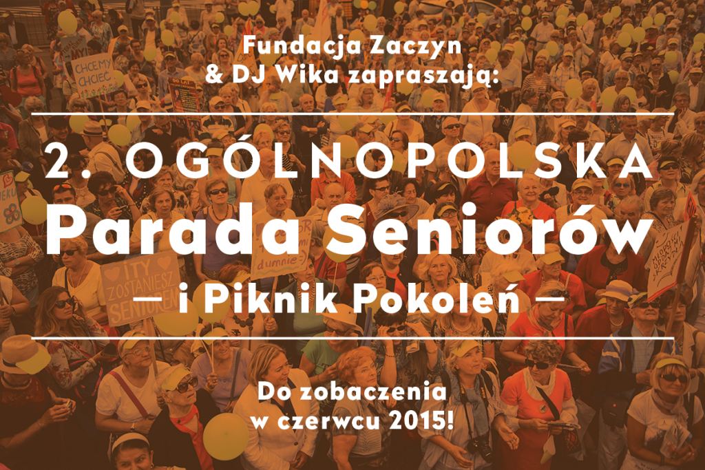 Parada Seniorów, Piknik Pokoleń 2015