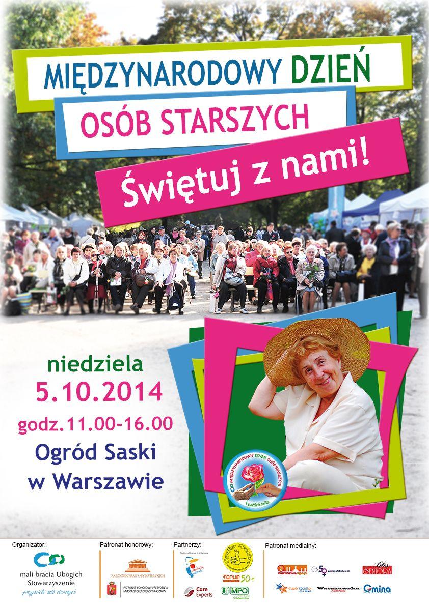 Międzynarodowy Dzień Osób Starszych - Park Saski-1
