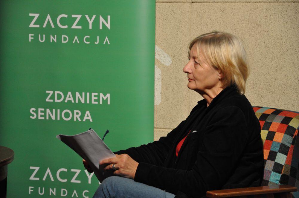 Spotkanie dt. Rad Dzielnicy w Warszawie, Chłodna 25, Jolanta Piecuch-1