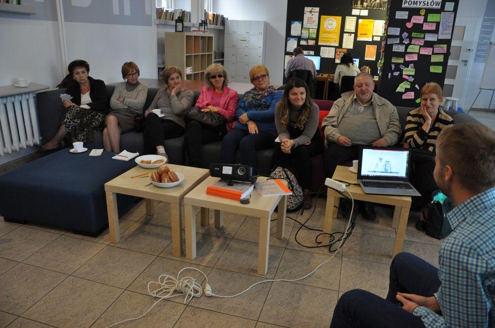 Spotkanie redakcyjne Zdaniem Seniora-Fundacja Zaczyn-1