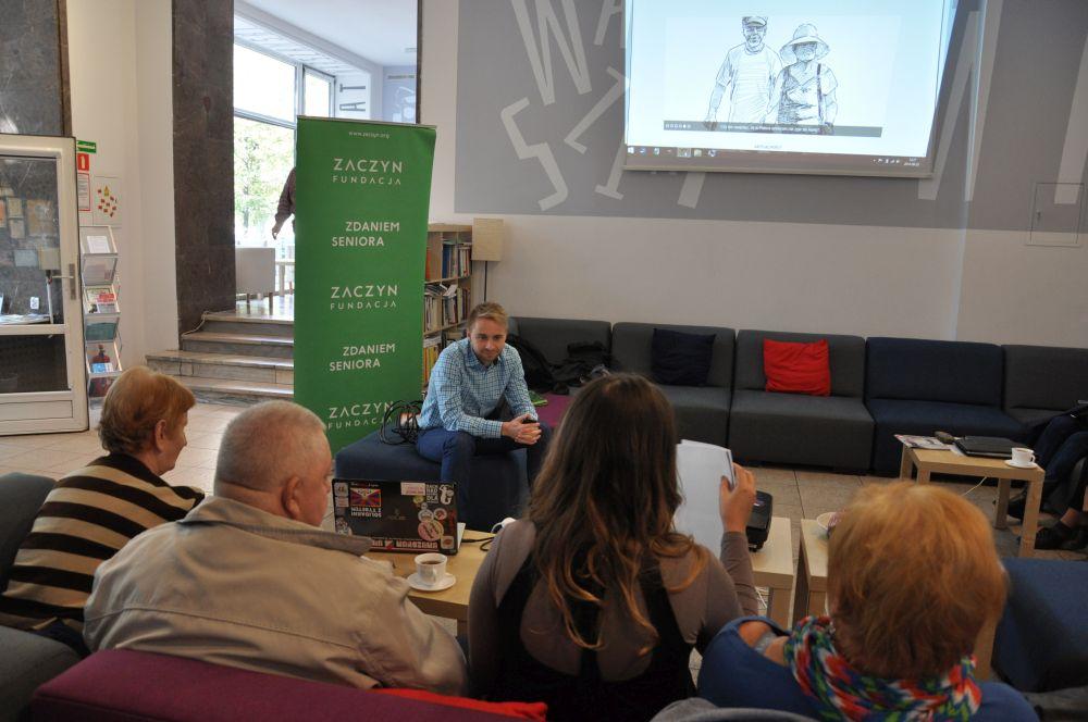 Spotkanie redakcyjne Zdaniem Seniora-Fundacja Zaczyn-2