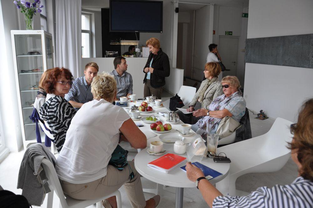 Spotkanie redakcyjne Zdaniem Seniora w Apteka Sztuki-1