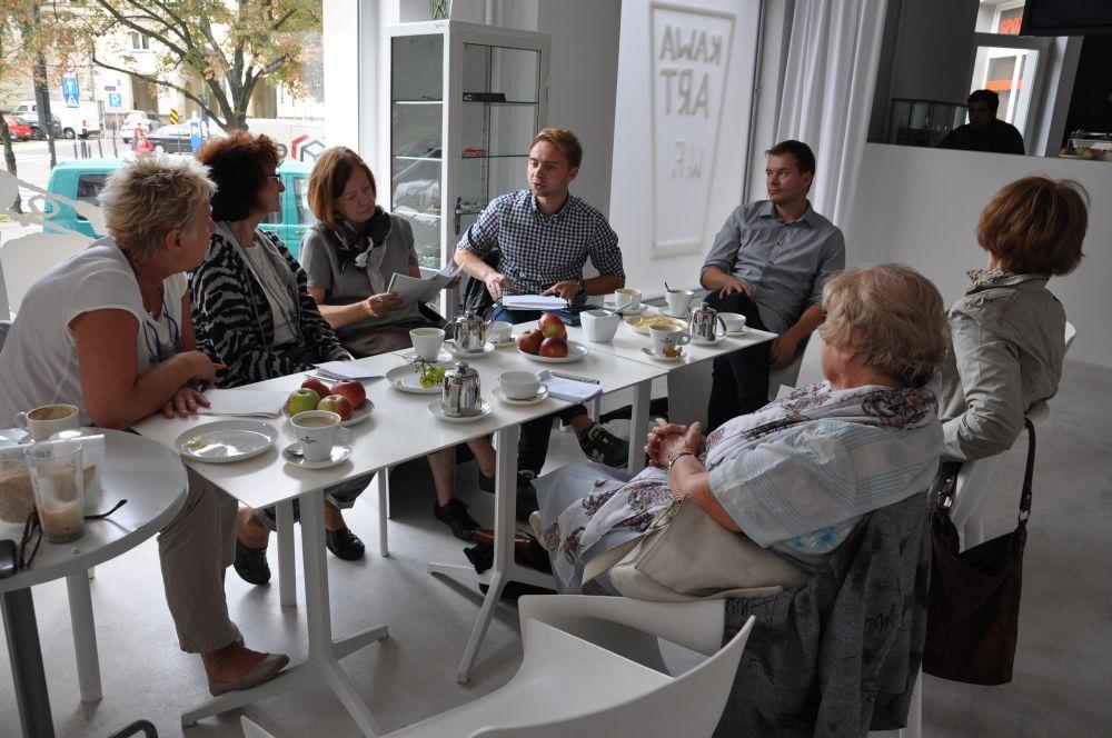 Spotkanie redakcyjne Zdaniem Seniora w Apteka Sztuki-5