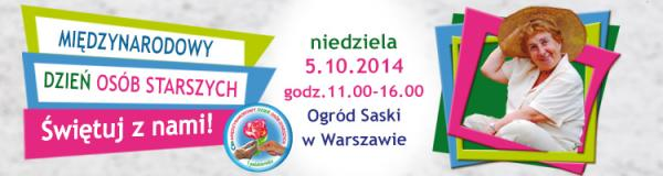 Międzynarodowy Dzień Osób Starszych - Park Saski