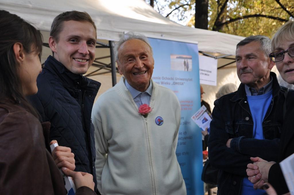 Piknik MiędzynarodowyDzień Osób Starszych, Ogród Saski 2014 - Fundacja ZACZYN  (129)