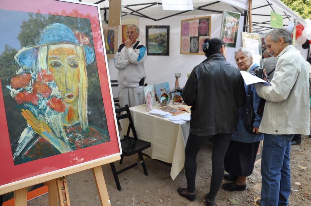 Piknik MiędzynarodowyDzień Osób Starszych, Ogród Saski 2014 - Fundacja ZACZYN  (31)