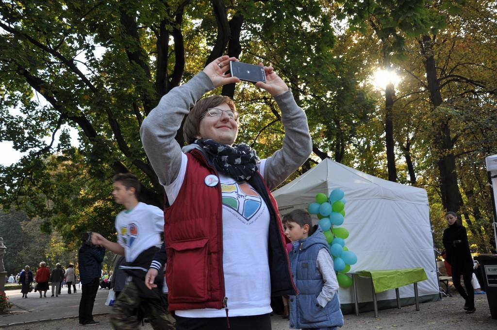 Piknik MiędzynarodowyDzień Osób Starszych, Ogród Saski 2014 - Fundacja ZACZYN  (97)