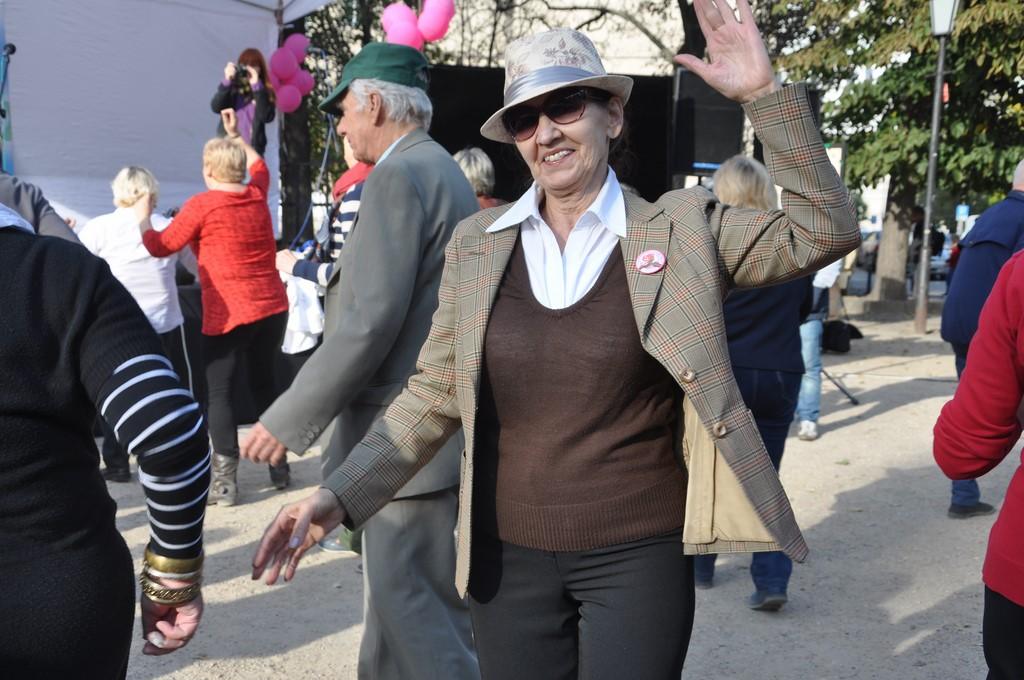 Piknik MiędzynarodowyDzień Osób Starszych, Ogród Saski 2014 - Fundacja ZACZYN  (120)