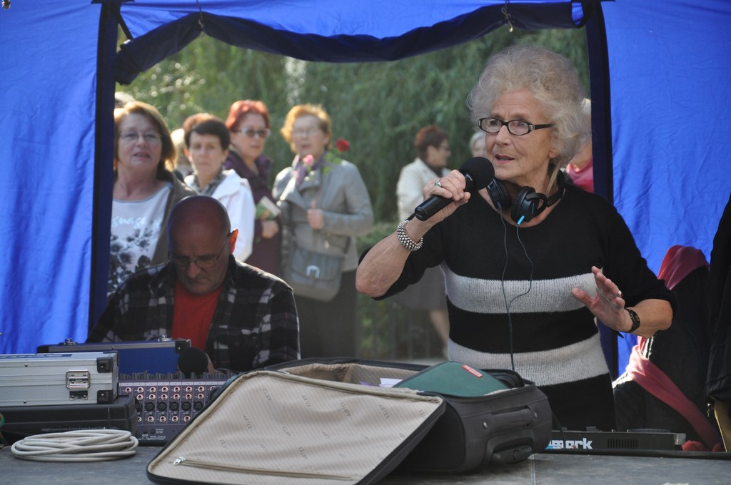 Piknik MiędzynarodowyDzień Osób Starszych, Ogród Saski 2014 - Fundacja ZACZYN,DJ Wika
