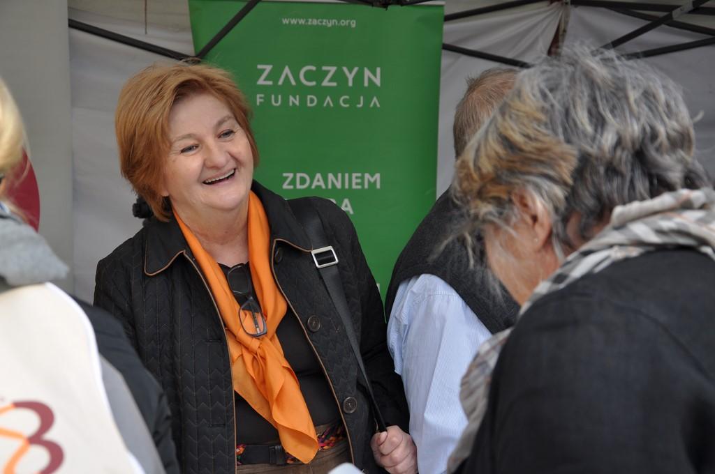 Piknik MiędzynarodowyDzień Osób Starszych, Ogród Saski 2014 - Fundacja ZACZYN  (71)