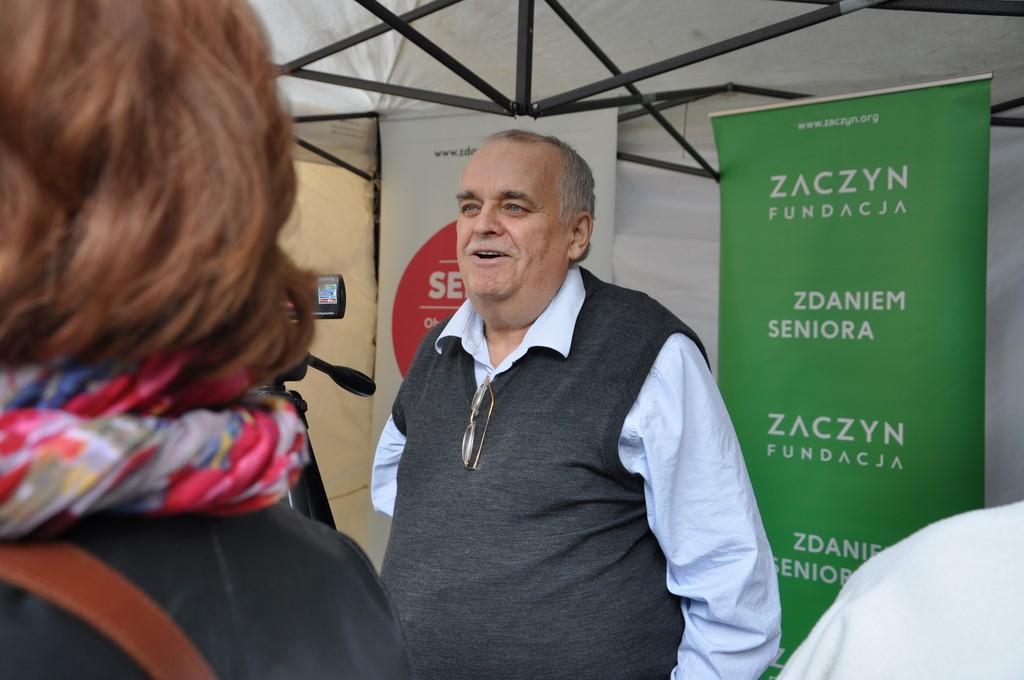 Piknik MiędzynarodowyDzień Osób Starszych, Ogród Saski 2014 - Fundacja ZACZYN  (73)