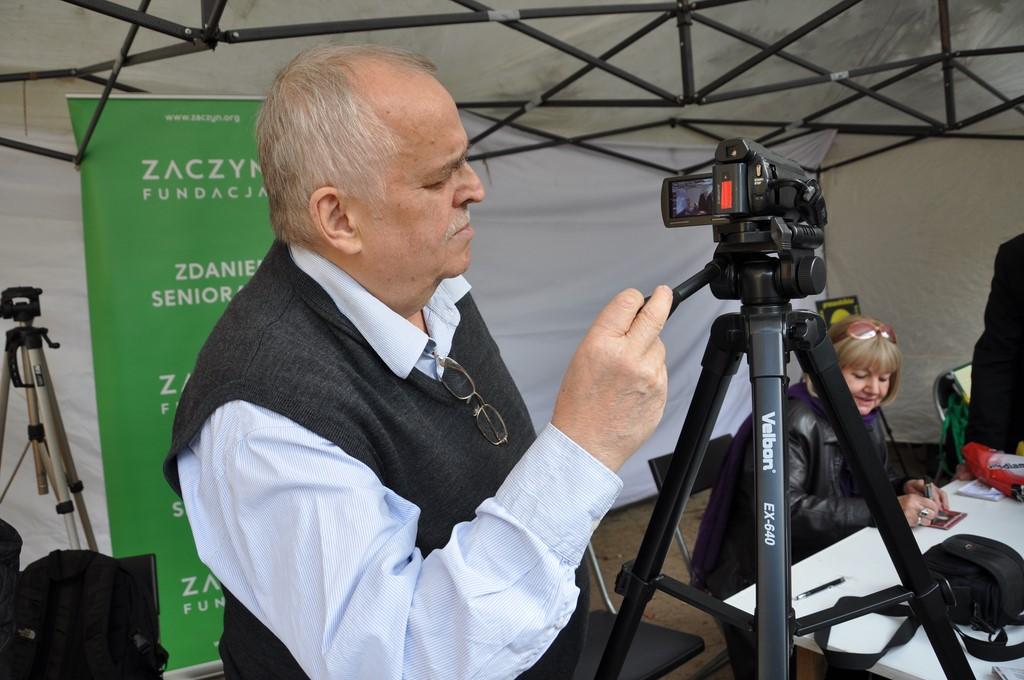 Piknik MiędzynarodowyDzień Osób Starszych, Ogród Saski 2014 - Fundacja ZACZYN  (72)
