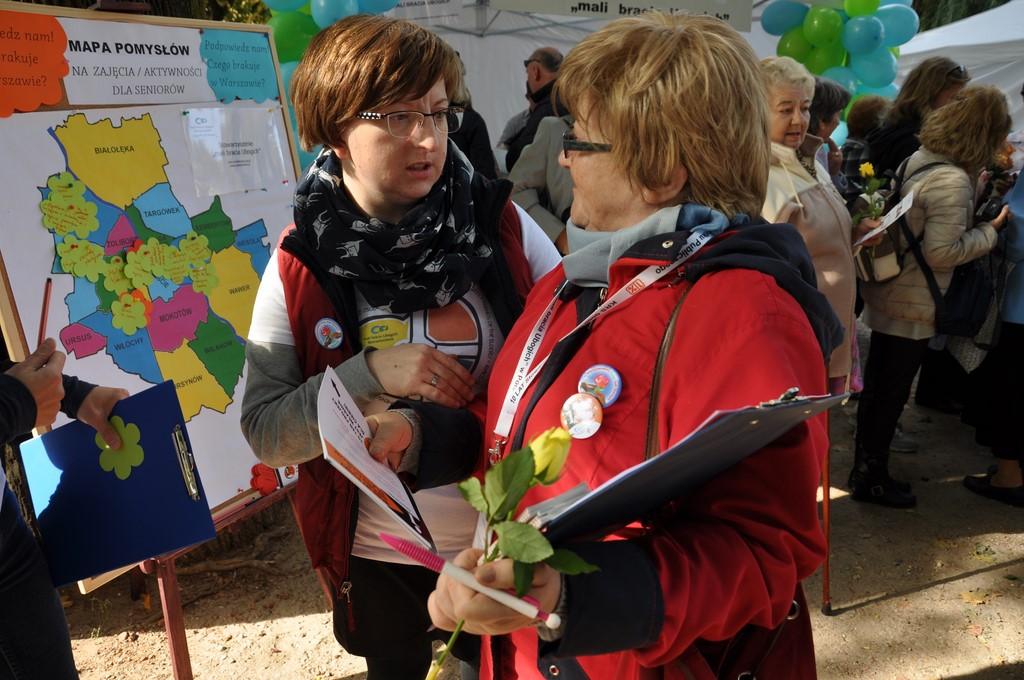 Piknik MiędzynarodowyDzień Osób Starszych, Ogród Saski 2014 - Fundacja ZACZYN  (32)