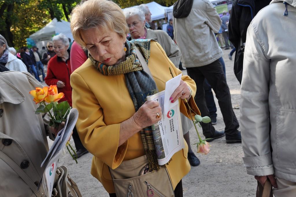 Piknik MiędzynarodowyDzień Osób Starszych, Ogród Saski 2014 - Fundacja ZACZYN  (47)