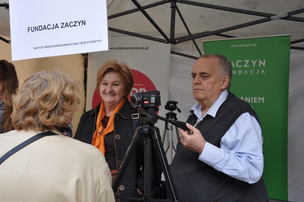 Piknik MiędzynarodowyDzień Osób Starszych, Ogród Saski 2014 - Fundacja ZACZYN  (65)
