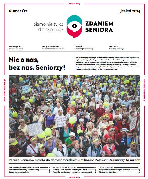 Gazeta Zdaniem Seniora 2 - okladka